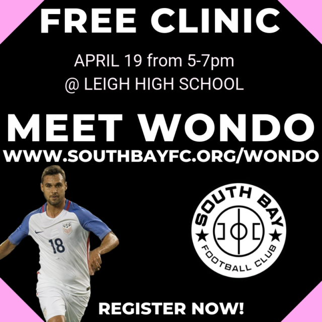 FREE Kick Off Clinic w/ Chris Wondolowski